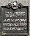 Pook na Pinaglibingan kay Madre Francisca del Espiritu Santo.jpg