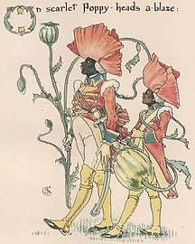 "Poppy art from ""Flora's Feast"" - The art of Walter Grane (page 175 crop).jpg"