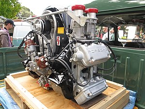Porsche 550 - Porsche Type 547 engine, as used in the later 550 cars