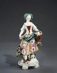 Porslin. Figurin - Hallwylska museet - 89118.tif