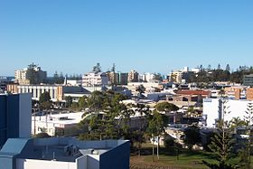 Centre-ville de Port Macquarie