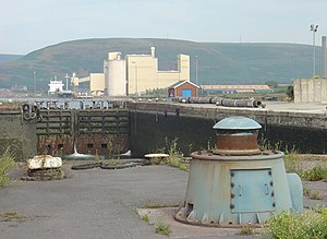 Port of Port Talbot - Port Talbot Dock entrance lock