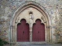 Portail abbatiale Notre Dame de Paimpont.JPG