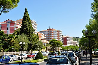 Portorož - Portorož in late August 2009