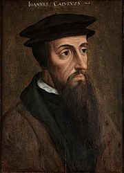 anonymous: Portrait of John Calvin