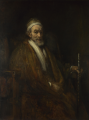 Portrait of Old Man with... - Rembrandt Harmenszoon van Rijn.png