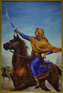Sada Kaur Sikh warrior