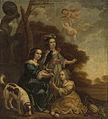 Portret van Geertruyt, Margriet en Anna Delff, de dochters van de kunstenaar Rijksmuseum SK-A-861.jpeg