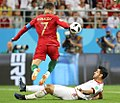 Portugal and Iran match at the FIFA World Cup 2018 9.jpg