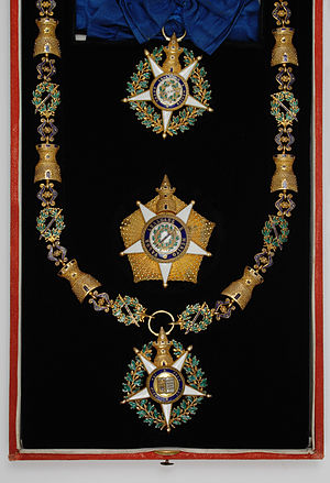 Order of the Tower and Sword - Insignia from the 19th century