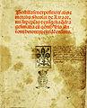 Postilla seu expositio litteralis et moralis of Nicholas of Lyra, Venice 1494.jpg