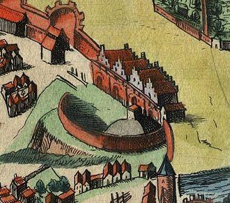 Royal Castle, Poznań - Image: Poznan Braun Hohenberg zamek