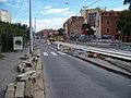Průběžná, rekonstrukce TT, zastávka Na Hroudě (01).jpg