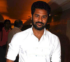 Prabhudeva at Wanted press meet.jpg