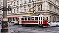 Prague historic tram 2172 (14812474802).jpg