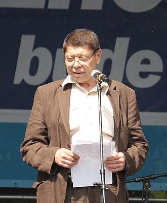 Martin Štěpánek (actor) - Image: Praha, Malá Strana, Kampa, Martin Štěpánek