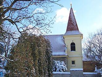 Petrovice (Prague) - Church of St. Jacob Senior