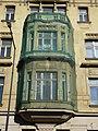 Praha Nove Mesto Washingtonova 21 Batuv palac arkyr.jpg