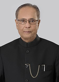 Pranab Mukherjee 13th President of India
