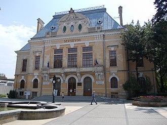 Western Moldavia - Image: Prefectura Veche Bt