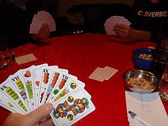 Preferans - Croatian version of three-player game