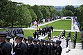 President Klaus Iohannis of Romania Participates in a Full Honors Wreath Laying Ceremony (34755230970).jpg