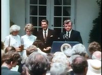File:President Reagan's Remarks on Presenting the Robert F. Kennedy Medal to Mrs. Kennedy on June 5, 1981.webm