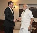 Prime Minister Modi meets Canadian Foreign Minister John Baird.jpg