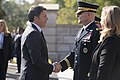 Prime Minister of Italy Matteo Renzi visits Arlington National Cemetery (30137134090).jpg