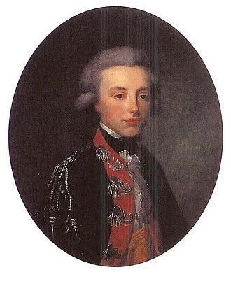 Prince Frederick of Orange-Nassau - Anonymous portrait of Prince Frederick, c. 1790.