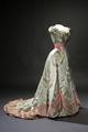 Prinsessan Ingeborgs aftonklänning (Börre-Lorenzen & Co) - Livrustkammaren - 22495.tif