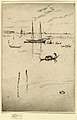 Print, The Little Lagoon, from Venice- The Twelve Etchings, 1880 (CH 18390791-2).jpg