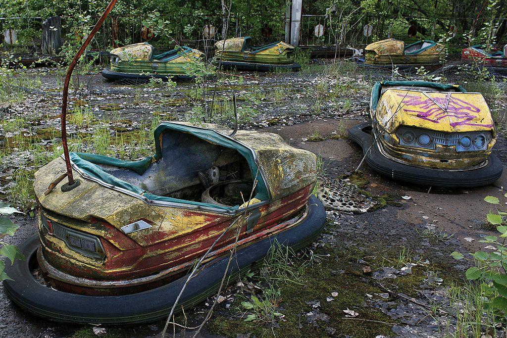 Pripyat - Chernobyl Amusement Park Karts
