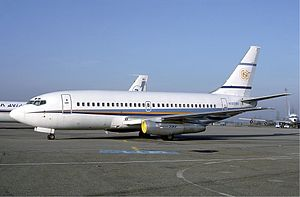 Private Jet Boeing 737-200
