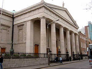 Archbishop of Dublin (Roman Catholic) - St Mary's Pro-Cathedral, Dublin, the episcopal seat of the Roman Catholic archbishops.