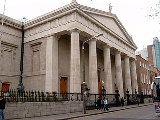 Archbishop of Dublin - St Mary's Pro-Cathedral, Dublin, the episcopal seat of the Roman Catholic archbishops.