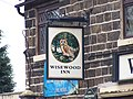 Pub Sign, Wisewood Inn, Loxley Road, Loxley, Sheffield - geograph.org.uk - 1700154.jpg