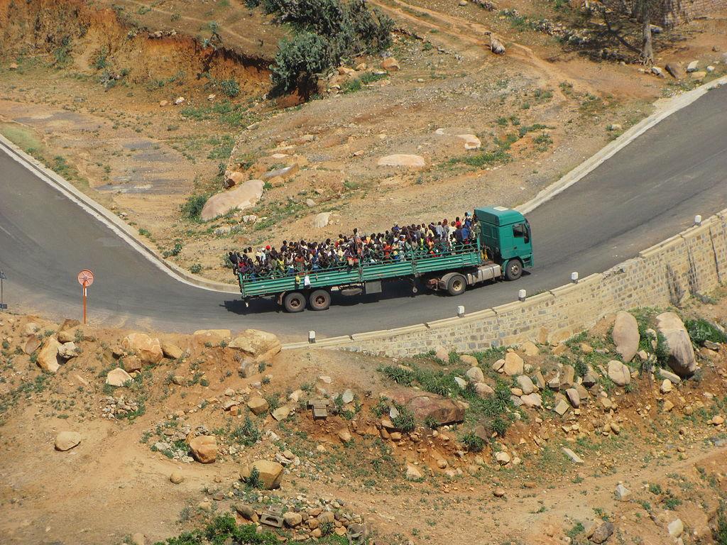 Asmara Eritrea - Public transport   Asmara, Public