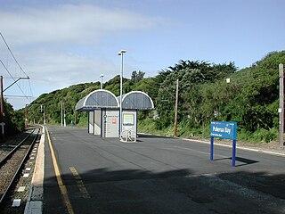 Pukerua Bay railway station railway station