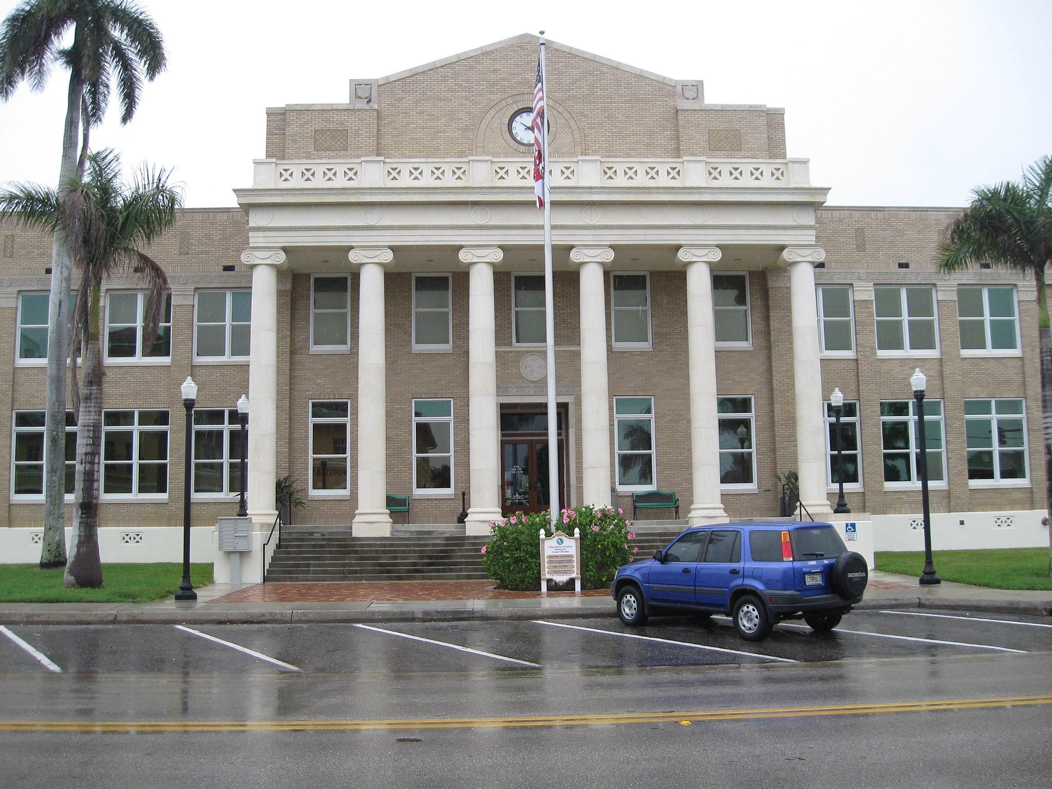 Punta Gorda, FL, Courthouse, Charlotte County, 04-18-2010 (1)