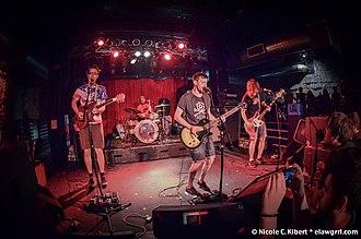 PUP (band) - PUP performing at The Masquerade in Atlanta in 2014
