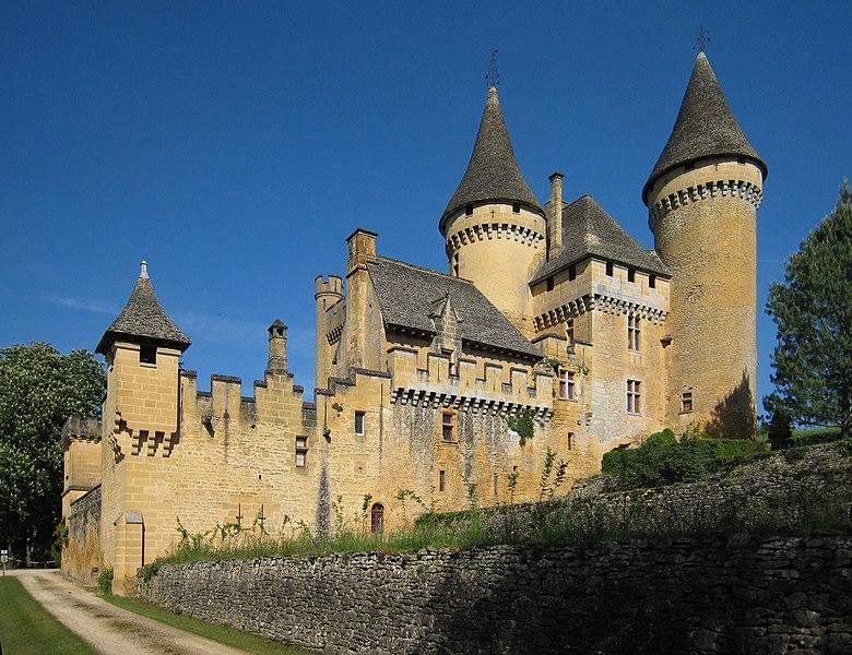 Château de Puymartin, dordogne, france