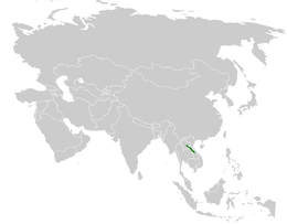 Pycnonotus hualon distribution map.png
