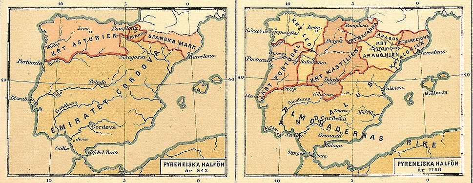 Pyreneiska halvön historisk