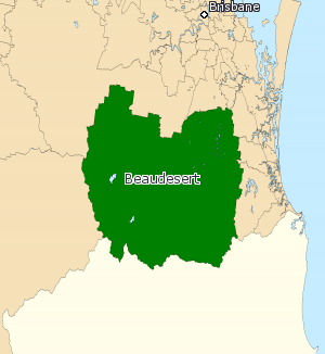 Electoral district of Beaudesert - Beaudesert (2008–2017)
