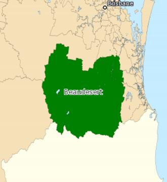 Electoral district of Beaudesert - Beaudesert (2008–2017)