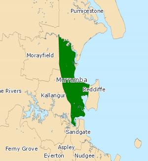Electoral district of Murrumba - Electoral map of Murrumba 2008