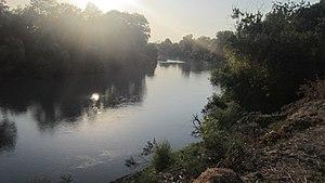 Alazani - Alazani River near Qakh