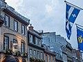 Québec Flag in Old Québec City (14767040322).jpg