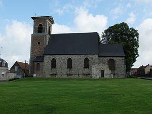 Quérénaing - Image: Quérénaing Eglise 2